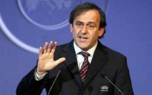Платини уволился с должности президента УЕФА