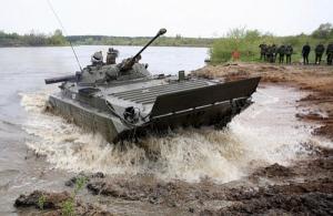 На оккупированной Луганщине боевики начали отрабатывать преодоление водной преграды
