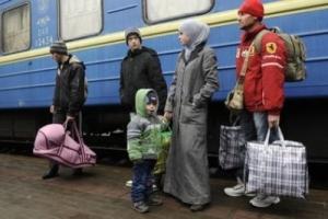 Еженедельно на Херсонщину прибывают до двухсот переселенцев из Крыма