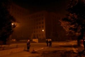 В одном из харьковских университетов произошел пожар
