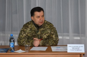 После посещения николаевского полигона министр обороны захотел изменить программу обучения личного состава