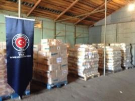 Турция передала 20 тонн гуманитарной помощи в Луганскую область