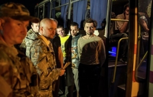 Сепаратисты ЛНР освободили пятерых украинских пограничников, которых держали в заложниках