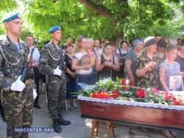 Николаев попрощался с героем-десантником, погибшим во время проведения АТО