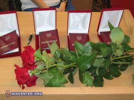 В Николаеве наградили бойцов АТО и волонтеров (ФОТО, ВИДЕО)