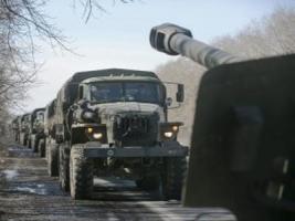 Боевики стянули к Горловке бронетехнику и проводят перегруппировку