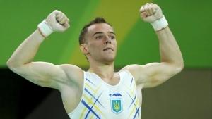Украинский гимнаст завоевал второе