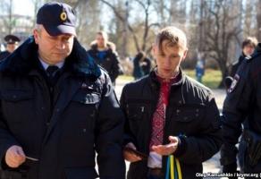В Крыму отпустили задержанных сегодня проукраинских активистов