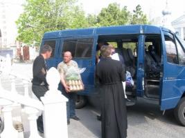 Священники из Херсонской епархии помогли батальону «Херсон»