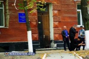 В Херсоне взорвали представительство Президента Украины в Крыму