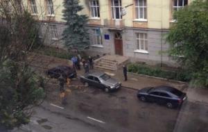 Во Львове взорвалось милицейское авто, есть раненые