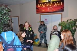 В Херсоне показ фильма о защитниках Донецкого аэропорта прошел в переполненном зале и при усиленных мерах безопасности