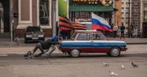 Донецкие сепаратисты провозгласили себя отдельным государством и тут же попросились в Россию