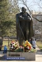 В Николаеве отметили 154-ю годовщину перезахоронения праха Шевченко
