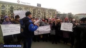 Херсонские пенсионеры провели свой очередной «коммунальный майдан» возле ОГА
