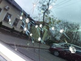 Бандитский Николаев: неизвестные обстреляли автомобиль бизнес-партнера депутата облсовета Юрий Кормышкина