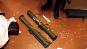 В квартире у грабителей, убитых херсонскими милиционерами, нашли арсенал оружия