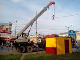 Минус пять: в Заводском районе убрали незаконно поставленные будки