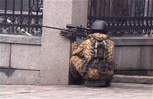 Видео того, как спецназ расстреливал евромайдановцев