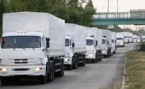 Россия показала, что повезут в грузовиках с «гуманитаркой»