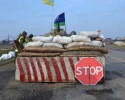 Боевики обстреляли блокпост пограничников под Майорским