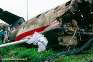 На юге Алжира потерпел крушение украинский самолет