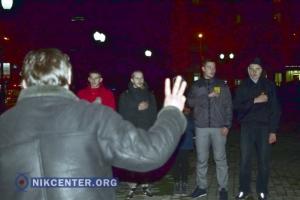 В Херсоне прошел митинг по случаю 2-й годовщины избиения студентов на Майдане