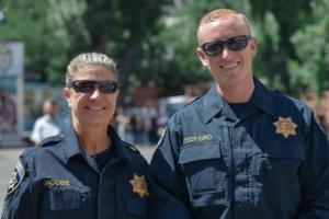 Американские инструкторы провели открытый урок для новой одесской полиции