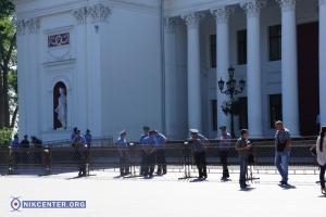 Одесский Евромайдан обделили на сессии горсовета