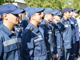 В Николаеве прошёл выпуск слушателей по профессии «Пожарный – спасатель»