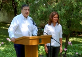 Саакашвили сделал своим заместителем дочь экс-министра финансов России Марию Гайдар