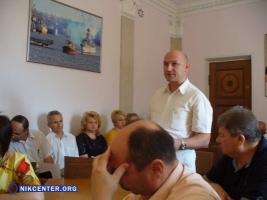 Управление транспорта Николаевского горсовета возглавил его бывший руководитель Кащенюк