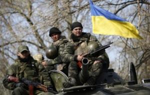 Украинские бойцы отбили атаку боевиков в районе Станицы Луганской