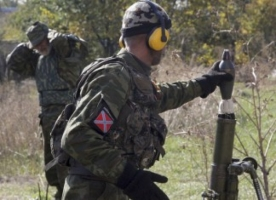 За сутки боевики 41 раз обстреливали силы АТО