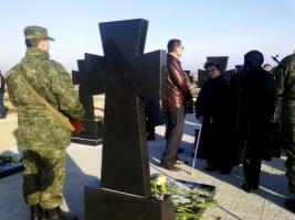В Херсоне открыли мемориальный комплекс на месте захоронения военнослужащих, погибших в зоне АТО. ФОТОРЕПОРТАЖ