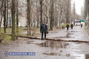Наибольшие повреждения ураган нанес в Николаеве