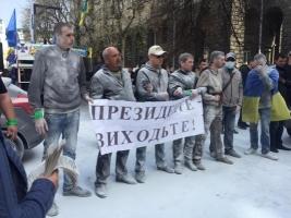 Активисты Автомайдана выдвинули требования к Порошенко