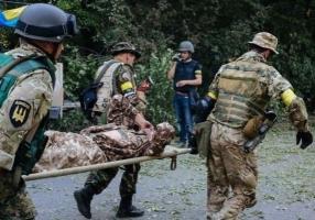 За сутки в зоне АТО погиб один украинский военный, 12 получили ранения