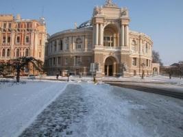 Ряд одесских маршруток изменили схему движения из-за ликвидации снежных завалов