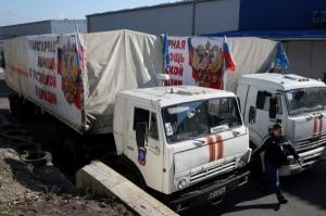 24-й российский «гумконвой» прибыл в Луганск и Макеевку
