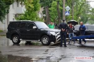 В Николаеве участники ДТП угрожали журналистке (ВИДЕО)