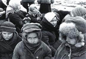 В Николаевской области открылся первый памятник детям войны