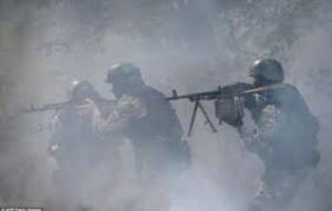 В Шахтерске во время боя с террористами 11 десантников пропали без вести, 13 – ранены