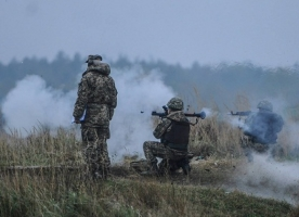 Боевики за ночь три раза обстреляли украинских силовиков – штаб АТО