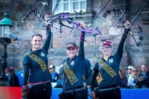 Украинки выиграли «золото» на чемпионате мира по стрельбе из лука