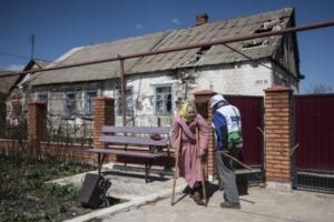 В Широкино Донецкой области люди бедствуют, вынуждены пить дождевую воду - ОБСЕ