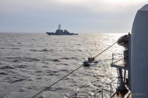 Украинские военные прошли совместные учения с ВМС США в Черном море