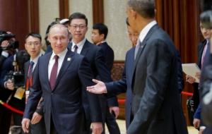 Путин и Обама обсудили ситуацию вокруг Украины в Пекине