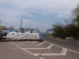 На Николаевском блокпосту в Соляных возник конфликт – двое получили травмы