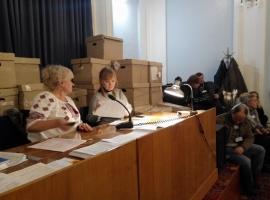Скандал на 182 избирательном округе в Херсоне